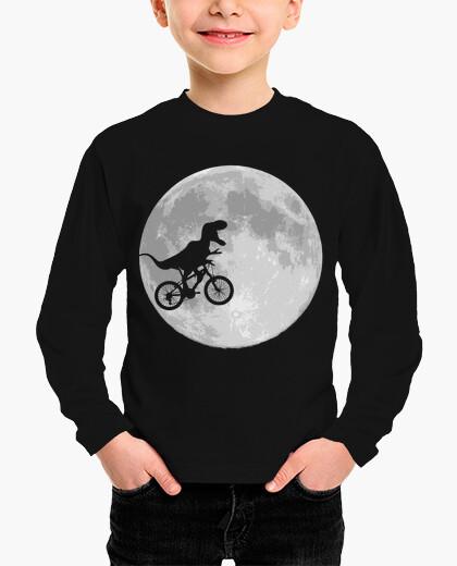 Dinosaur bike and moon kids clothes