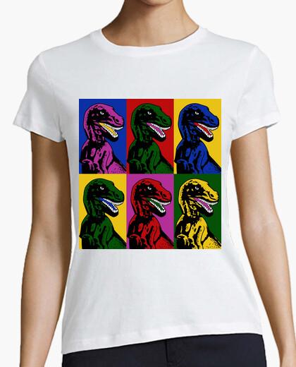 Camiseta Dinosaur Pop Art