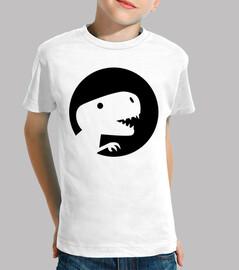 dinosaur t-rex moon