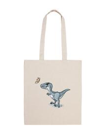 dinosaure bleu