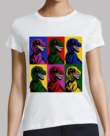 dinosaure pop art