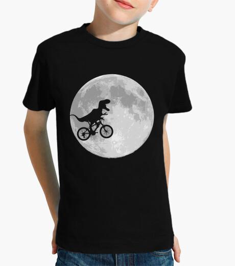 Kinderbekleidung dinosaurier fahrrad und mond