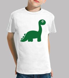 dinosaurio comico verde