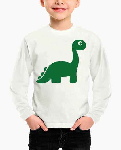 Ropa infantil dinosaurio comico verde