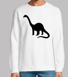 dinosaurio de cuello largo