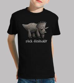 dinosaurio de roca triceratops