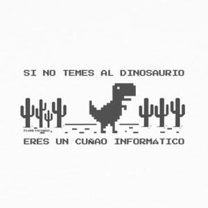 T-shirt Dinosaurio informático
