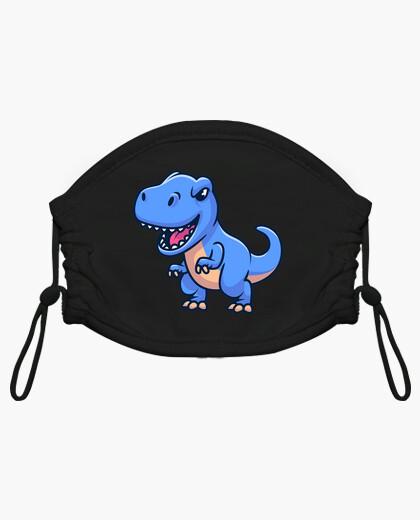 Mascarilla niño dinosaurio t-rex