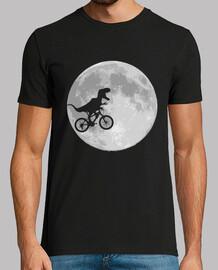 dinosauro bicicletta e moon