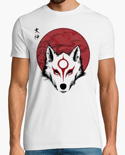 T-shirt dio del sole rosso