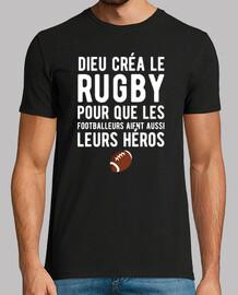 dios creó el regalo de rugby