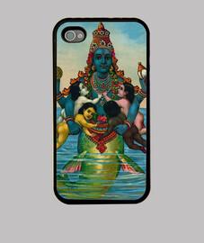 Diosa hindú Matsia, avatar de Vishnú