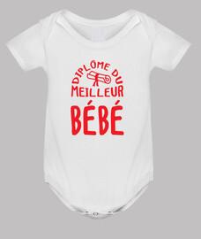Diploma mejor bebé / nacimiento