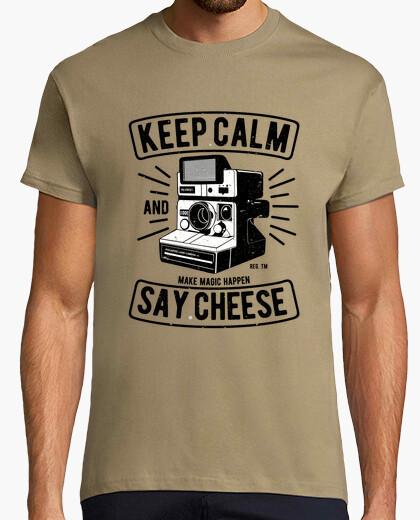 Tee-shirt dire du fromage