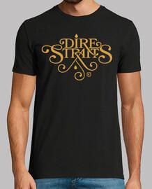 Dire Straits Logo (dorado)