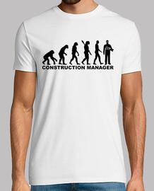 directeur de la construction de l'évolution