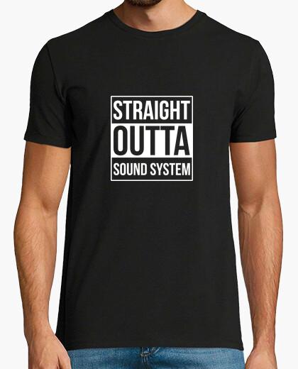 T-shirt direttamente dal sistema audio