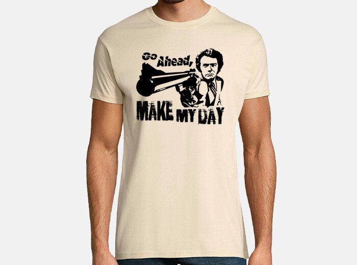 eeaa4b058a701 Dirty Harry - Go Ahead, Make My Day T-shirt - 1779310 | Tostadora.com