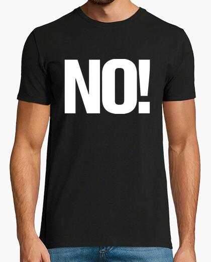 T-shirt discarica - no