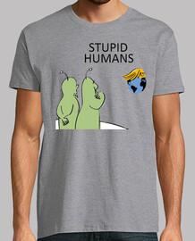 discarica trump - gli esseri umani stupidi