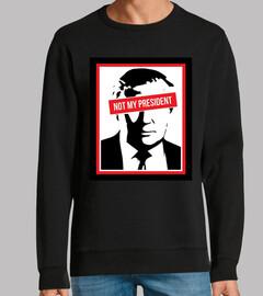 discarica Trump - non il mio presidente