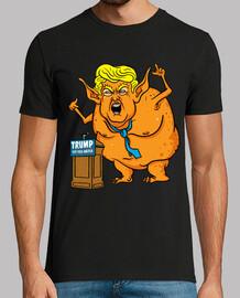 discarica trump - ogro repugnante