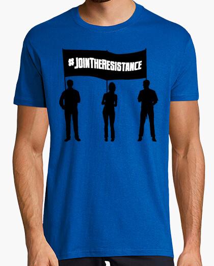 T-shirt discarica trump - resistencia