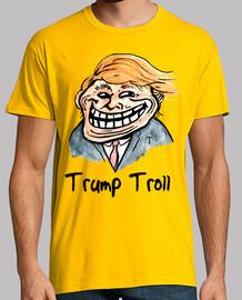 discarica trump - trol trump, cara