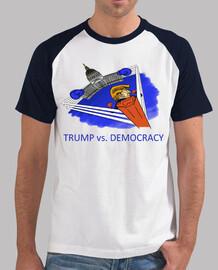 discarica trump - trump contra la democracia