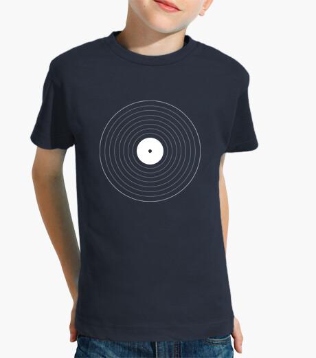 Ropa infantil Disco de vinilo geométrico