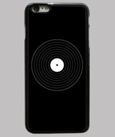 Disco de vinilo geométrico