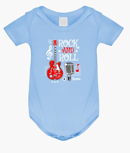 Abbigliamento bambino disegno rock...