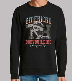 Diseño American Bodybuilding Vintage