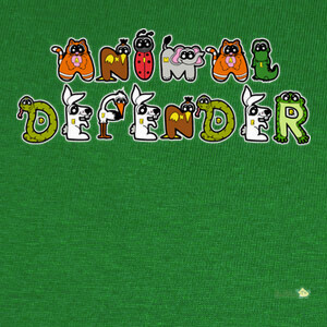 Camisetas Diseño Animal Defender