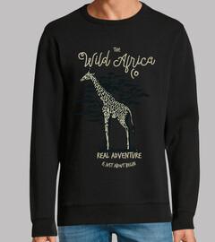 Diseño Animal Girafa Aventuras Retro