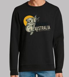 Diseño Animal Koala Retro Australia