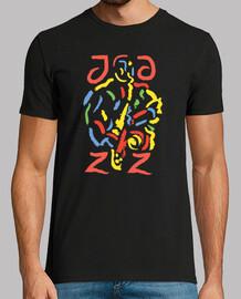 diseño artístico moderno de jazz