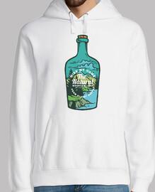 Diseño Aventuras Naturaleza Botella 80s