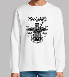 Diseño Bikers Rebel Calaveras Rockers