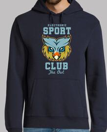 Diseño Búho OWL Azul Cartoon Animal