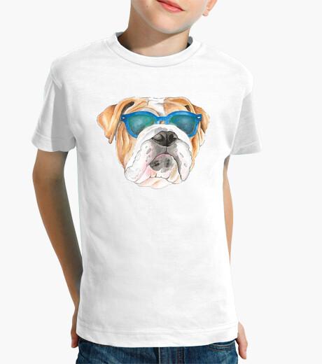 Ropa infantil Diseño bulldog gafas sol