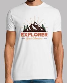 Diseño Campamento Retro Explorer