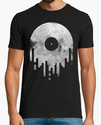 Camiseta Diseño Chorreante blanco