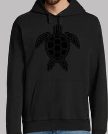 diseño de tortuga verde