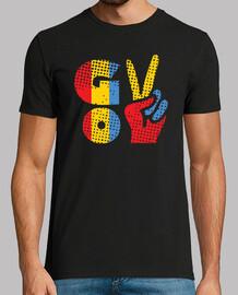 diseño del orgullo de rumania