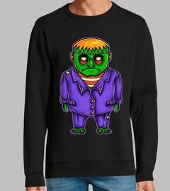 Diseño Frankenstein Terror Humor Cine