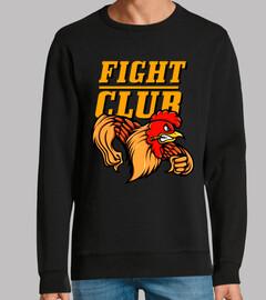 Diseño Gallo Cartoons Lucha Club Color