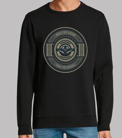 Diseño Geometría Circular Retro Regalo