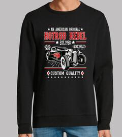 Diseño Hot Rod Rockabilly Retro 1958