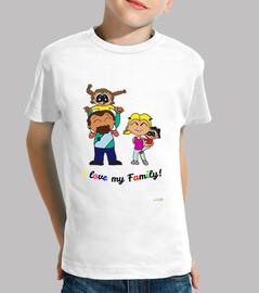 Diseño I love my family